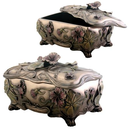 Art Nouveau Poppy Box