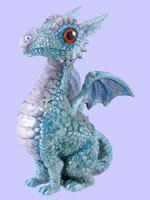 Blue Baby Dragon