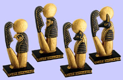 Sons of Horus Statues