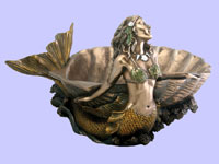 Mermaid Shell Dish