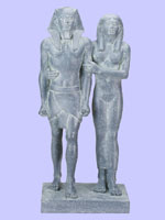 King Menkaure With Queen