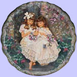 Treasured Moments Plate - Sandra Kuck