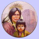 America's Indian Heritage - Gregory Perillo Plate