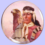 Chief Cochise - Chieftains - Gregory Perillo Plate