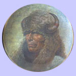 Chief Red Cloud - Chieftains - Gregory Perillo Plate