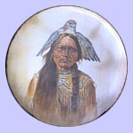 Chief Sitting Bull - Chieftains - Gregory Perillo Plate