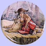 Chief Tecumseh - Chieftains - Gregory Perillo Plate