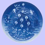 Christmas eve - Royal Copenhagen Children's Christmas Plate - Ingrid Jensen