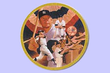 Mickey Mantle Commemorative Plate