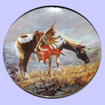 War Ponies of The Plain  -  Sioux War Pony - Gregory Perillo