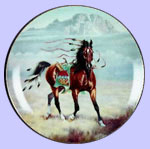War Ponies of The Plain  -   Arapaho War Pony - Gregory Perillo