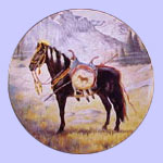 War Ponies of The Plain  -    Blackfoot War Pony - Gregory Perillo