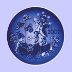 The Little Juggler - Bing & Grondahl Children's Day  Plate - Sven Vestergaard
