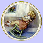 The Lullaby Bessie Gutmann Plates
