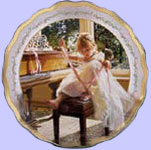 Time For Dreams - Dances of Joy - Sandra Kuck Collectors Ballet Plates
