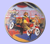 Ron Lee Clown Plates