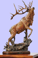 Call to Contest-Elk Sculpture